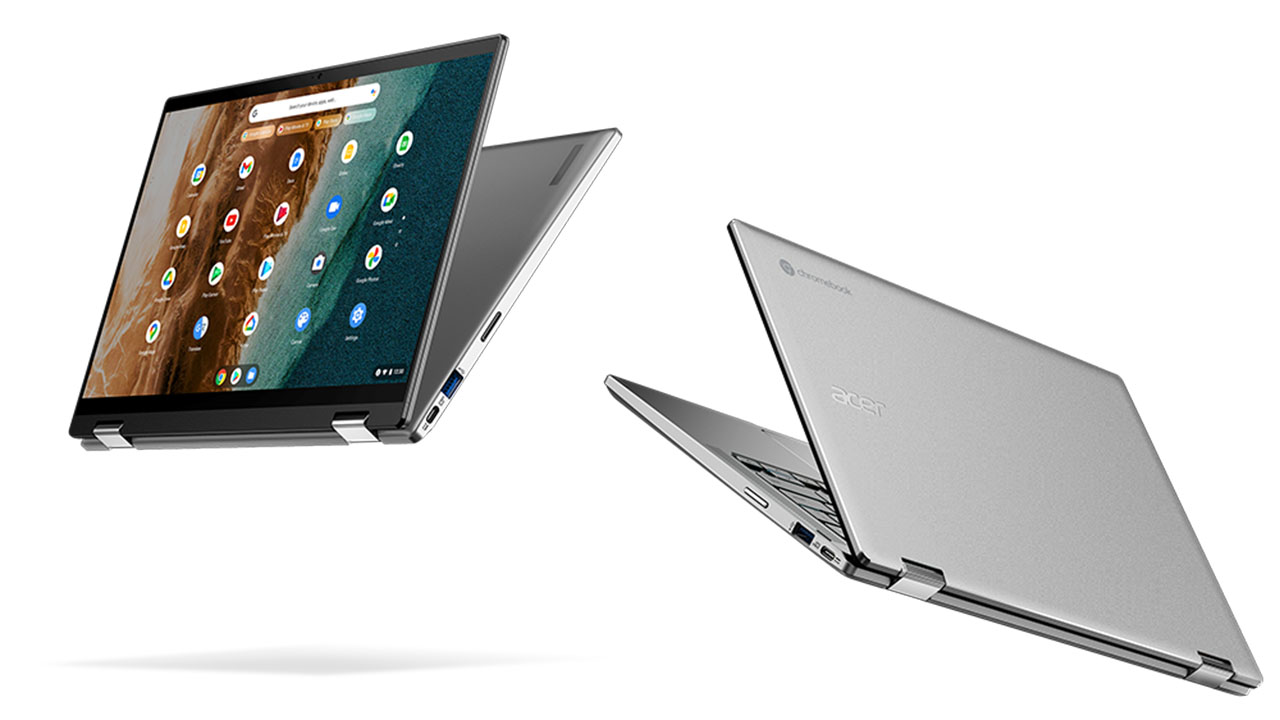 acer launches new large screen chromebooks