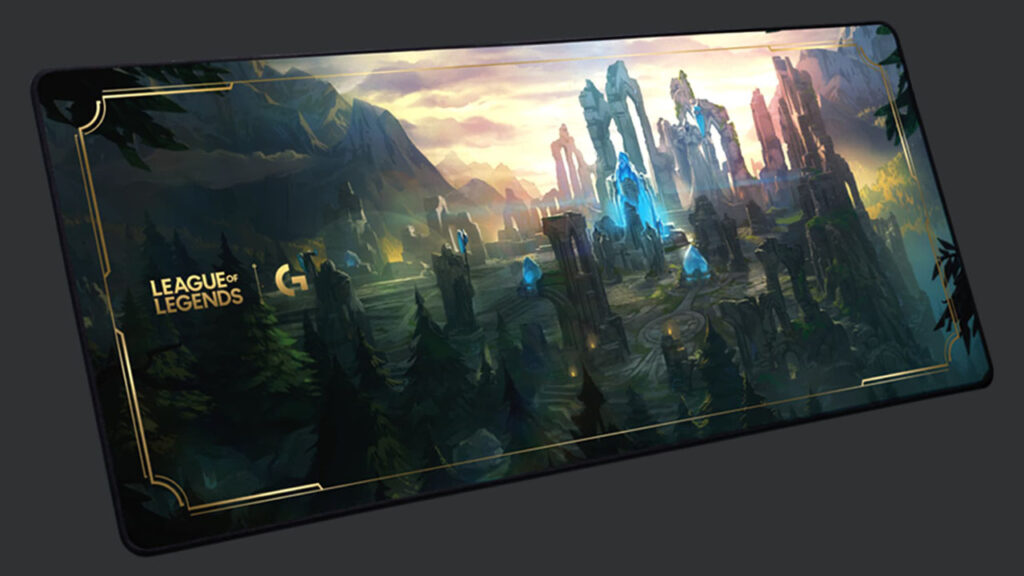 league of legends g840 gaming mousepad