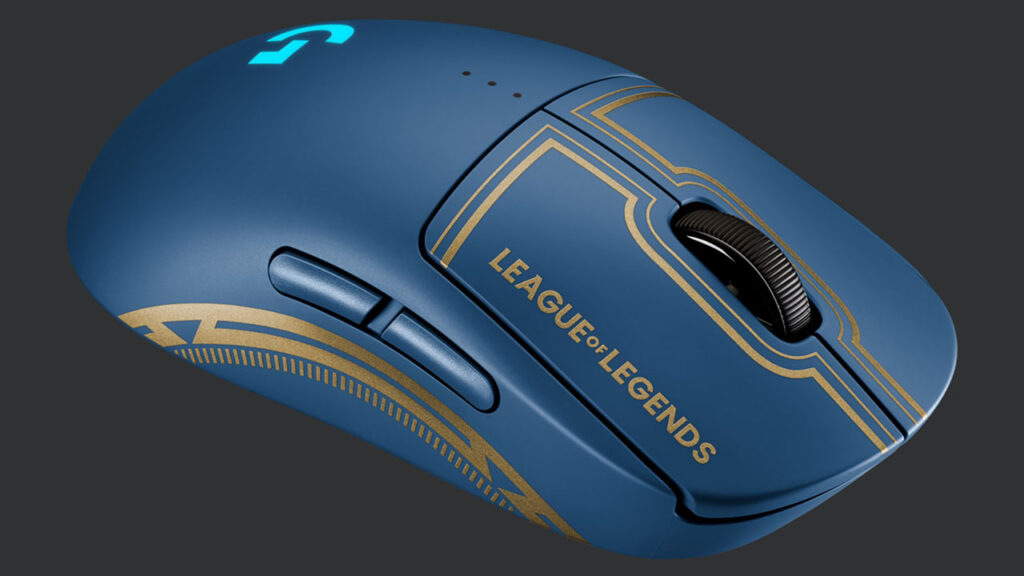 league of legends pro wireless gaming mouse