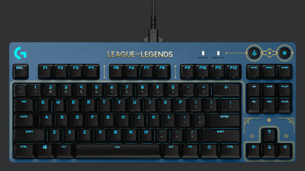 league of legends pro x gaming keyboard