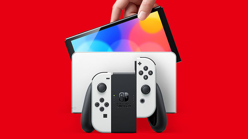 nintendo switch oled model now available in stores